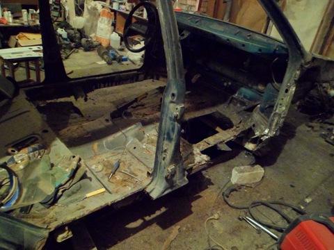 Начало кузовного ремонта часть 2
